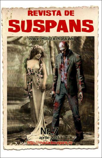 Suspense Review Magazine Issue 7, April 2013, cover design by Cristina Schek (cristinaschek.com)