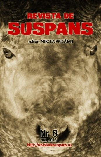 Suspense Review Magazine Issue 8, May 2013, cover design by Cristina Schek (cristinaschek.com)