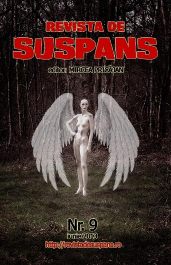 Suspense Review Magazine Issue 9, June 2013, cover design by Cristina Schek (cristinaschek.com)
