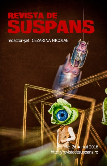 Suspense Review Magazine Issue 26, May 2016, cover design by Cristina Schek (cristinaschek.com)