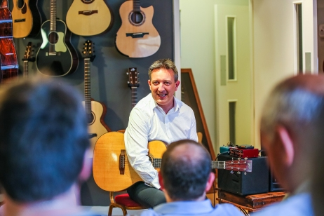 Clive Carrll CD Launch, 9June2016, photo by CristinaSchek.com
