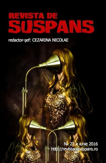 Suspense Review Magazine Issue27 June2016, Illuminati cover design by CristinaSchek.com