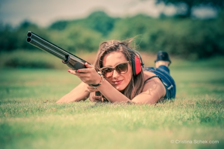 Pigeon Clay Shooting, London, photography by Cristina Schek