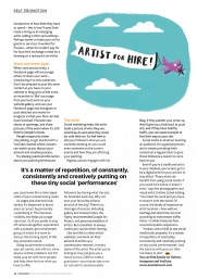 Art Student Magazine 2016, Article by Estelle Lovatt, Cristina Schek Feature, page 14