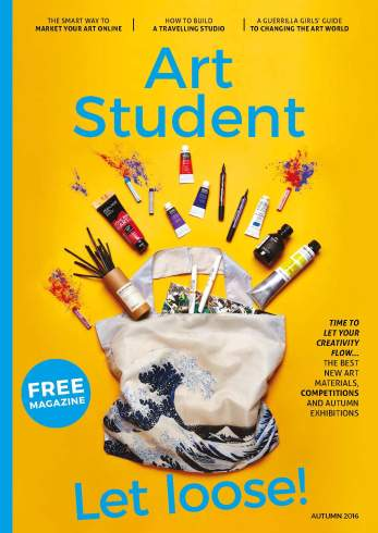 Art Student Magazine, Autumn 2016, Article by Estelle Lovatt, Cristina Schek Feature