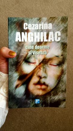 Cezarina Anghilac - '(S)he Who Sleeps And Dreams, Book Cover by Cristina Schek