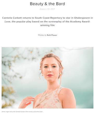 Carmela Corbett, photo by Cristina Schek-magazine