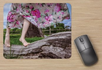 Gone with the wind, Art Mouse Pad by Cristina Schek