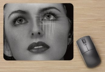 Snow White Art Mouse Pad by Cristina Schek 1